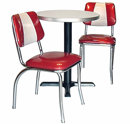 A Back Diner Chair Group ...