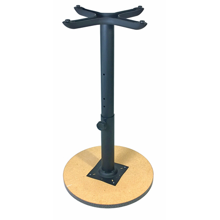 Heavy duty adjustable height restaurant table bases - Table basse ajustable ...