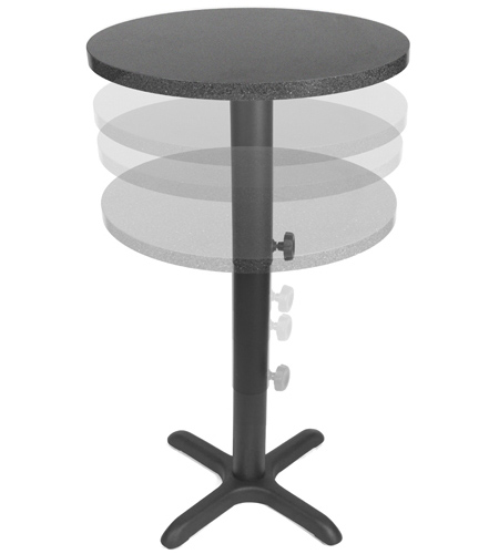 Heavy Duty Adjustable Height Restaurant Table Bases - Restaurant table bases for sale