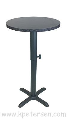 ... Adjustable Height Table Base Crossfoot Bottom Style Bar Height ...