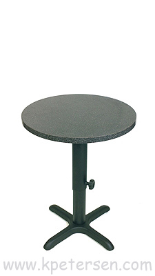 Adjustable Height Table Base Crossfoot Bottom Style Dining Height ...