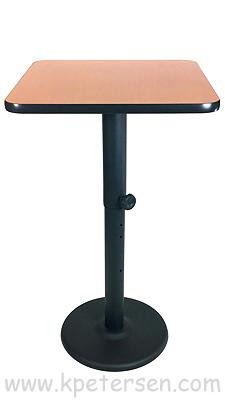 Heavy Duty Adjustable Height Restaurant Table Bases - Adjustable table bases for restaurants