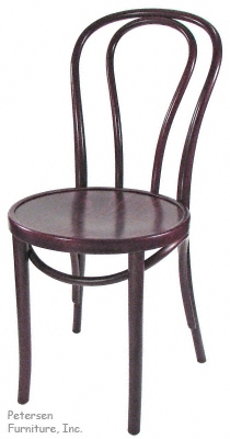 Bentwood Chair Mahogany Stain