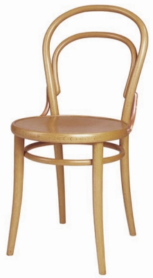 14 Thonet Bentwood Chair Natural Clear Finish Detail