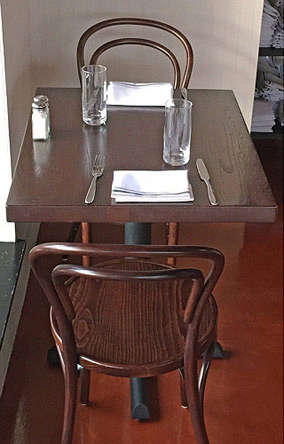 14 Thonet Bentwood Chair Walnut Stain Restaurant Installation