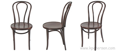Bentwood Chairs Walnut Stain Views