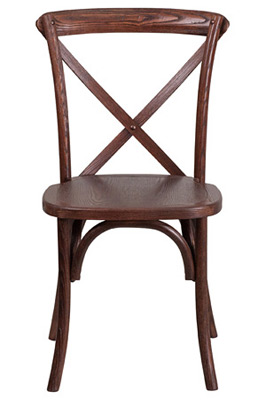 Bentwood Stacking Chair Front View