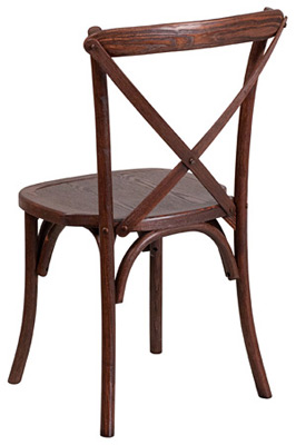 Bentwood Stacking Chair Rear View