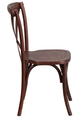 Bentwood Stacking Chair Side View