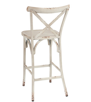 Marvelous Outdoor Bentwood French X Back Style Aluminum Bar Stool Download Free Architecture Designs Viewormadebymaigaardcom