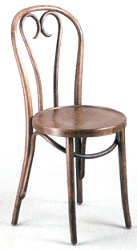 Candy Cane back Bentwood Chair