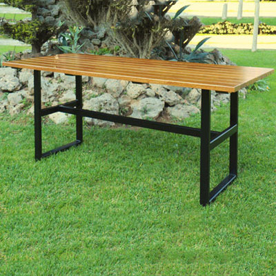 Awesome Beer Garden Tables Benches Steel W Chestnut Seats Tops Creativecarmelina Interior Chair Design Creativecarmelinacom