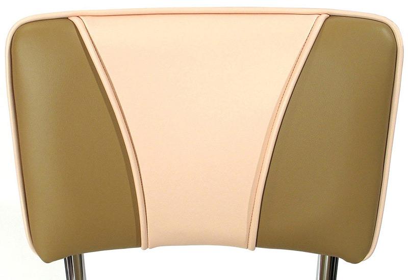 Bikini Bottom Diner Chair Back Detail