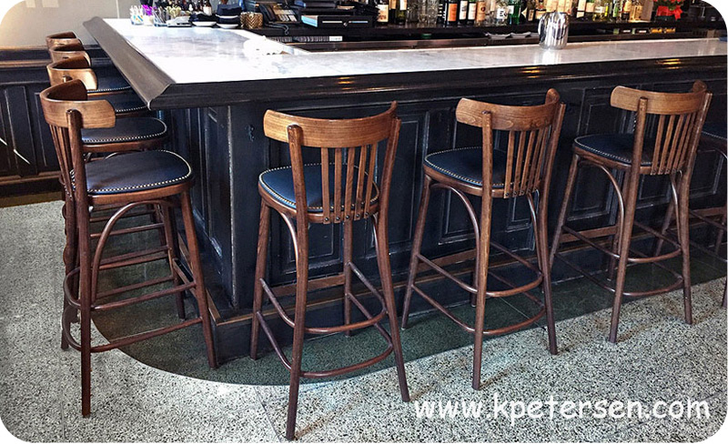 Super Bistro Bar Stool Steam Bent Wood Ocoug Best Dining Table And Chair Ideas Images Ocougorg
