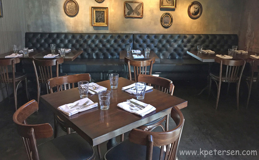 Bistro Chairs With Upholstered Seats Restaurant Installation