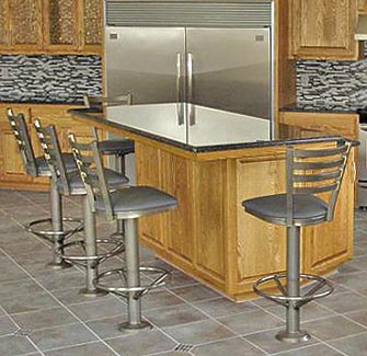 Bolt Down Counter Stools