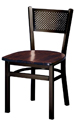 Budget Steel Mesh Back Restaurant Chair