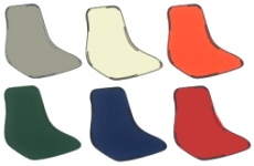 Many Cafeteria Chair Seat Colors Available