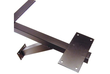 Cantilever Table Support 20 Inch Top View Detail
