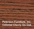 Colonial Cherry On Oak