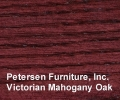 Victorian Mahogany On Oak