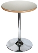 Chrome Trumpet Table Base Dining Table Height
