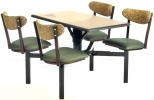 Cafeteria Cluster Seating