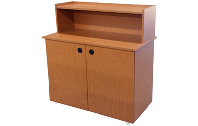 Fast Food Restaurant Condiment And Storage Cabinet