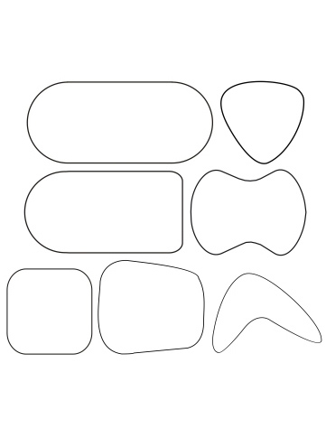 Special Table Shapes