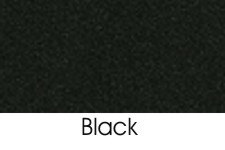 Black DAE Color Selection For Waste Receptacle Tray Rails and Top