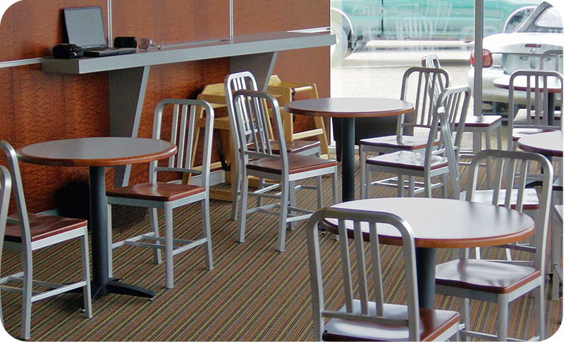 Perfect Decodina Aluminum Chair Wood Seat XI29