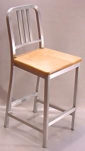 DecoDina Aluminum Counter Height Stool with Wood Seat & Aluminum and Wood Seat Counter Height Stools islam-shia.org