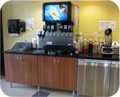 Restaurant Cabinets Drink Stations Microwave Cabinets