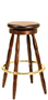 Early American Pub Stool
