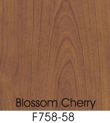 Blossom Cherrywood Plastic Laminate Selection