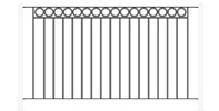 6 Foot Portable Fencing Section