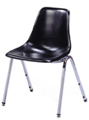 Fiberglass Seat Stack Chair