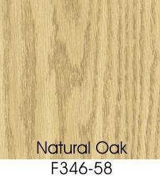 Natural Oak Plastic Laminate Selection