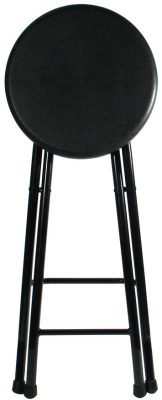 Folding Bar Stool Folded Position Seat Detail