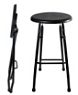 Outdoor Folding Steel Barstools