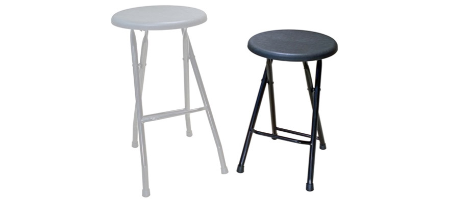 Folding Bar Stools ~ Folding steel bar stools