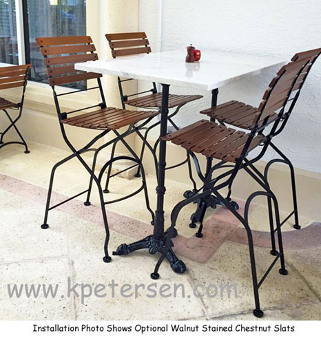 Upholstered Folding Chairs Costco Images Folding Patio  : french bistro folding bar chair install from zenlaser.co size 600 x 644 jpeg 119kB