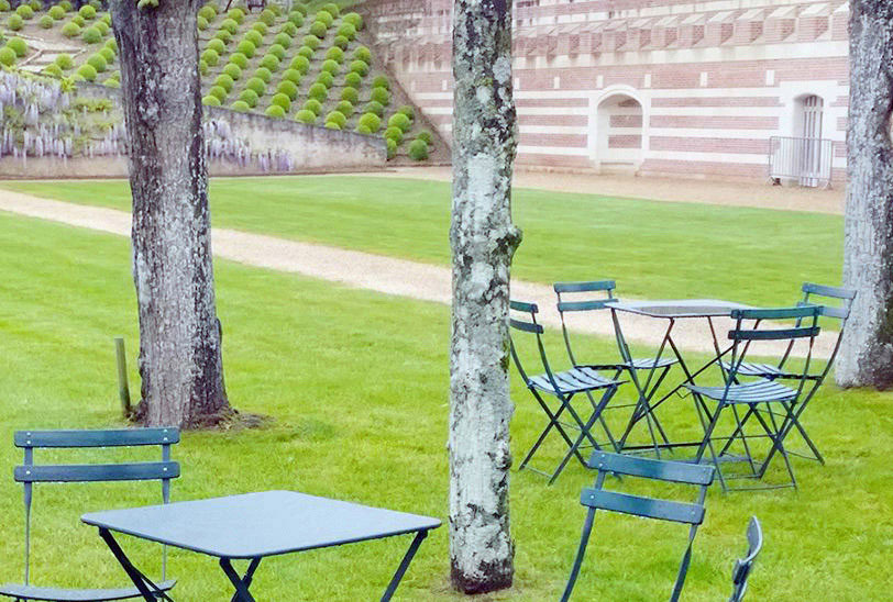 Economy 19th Century Reproduction French Garden Chairs Steel Folding