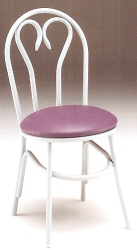 Ice Cream Parlor Chair Steel