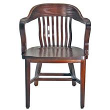 Oak Jury Chair Front View