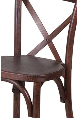 Juvenile Height Kid's Bentwood Stacking Chair Detail