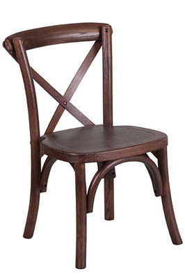 Juvenile Height Kid's Bentwood Stacking Chair Front View 2