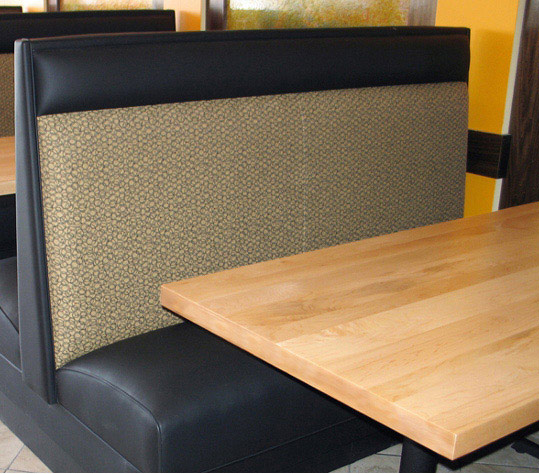 Maple Veneer Restaurant Booth Table