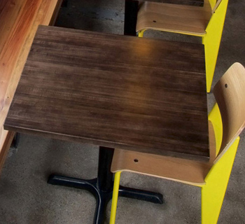 Solid Maple Restaurant Tables ...
