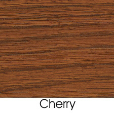 Cherry Stain On Oak Wood Species